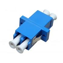 Адаптер LC-LC (duplex), полировка PC, SM (одномодовый), пластиковый