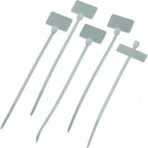 Стяжки нейлоновые 110мм (с маркером)
