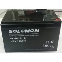 Аккумулятор Solomon 12V 12A
