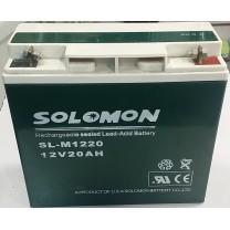 Аккумулятор Solomon 12V 20A